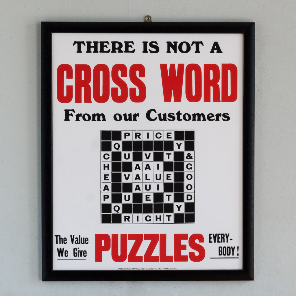 There is not a Cross Word from our Customers,