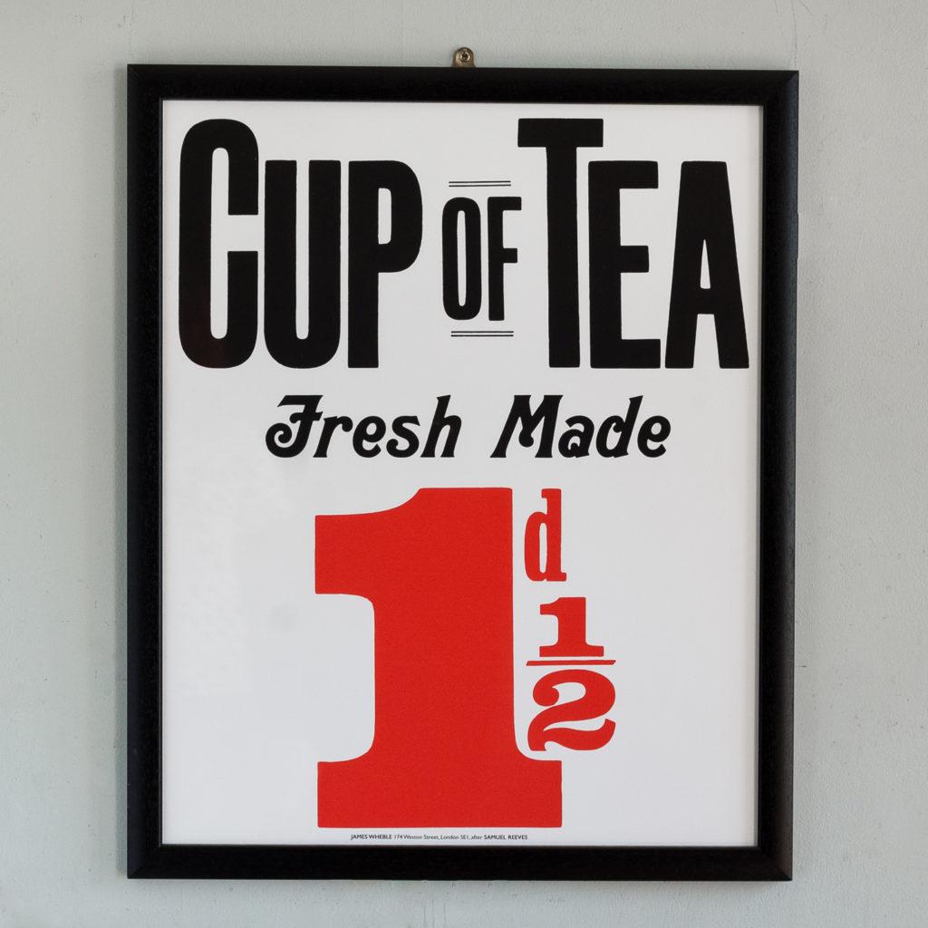 Cup of Tea Fresh Made