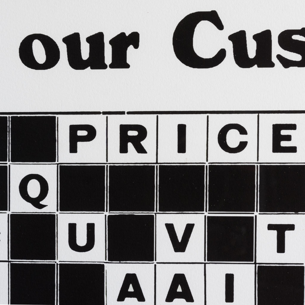 There is Not a Cross Word from our Customers,-128206