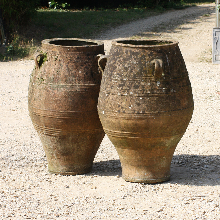 terracotta pithoi