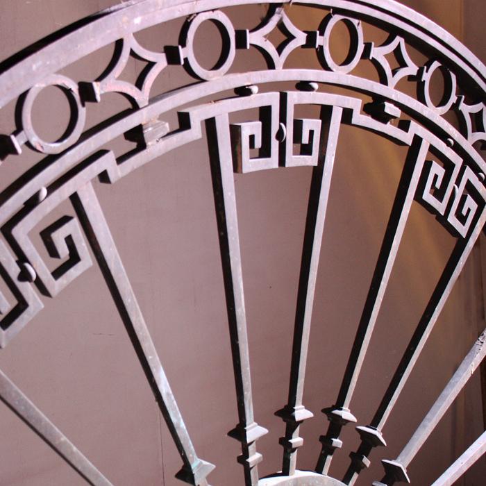 Bronze fanlight window