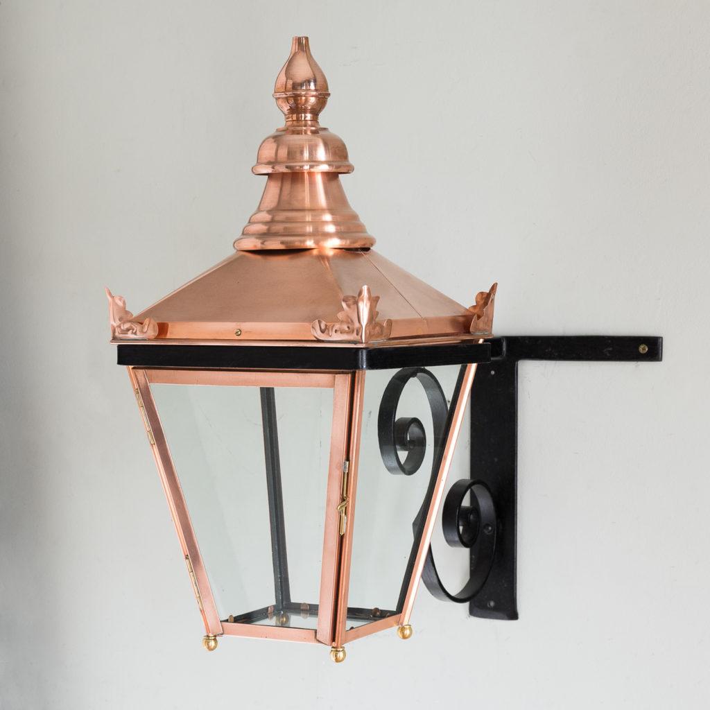 Victorian style copper Winsor lantern