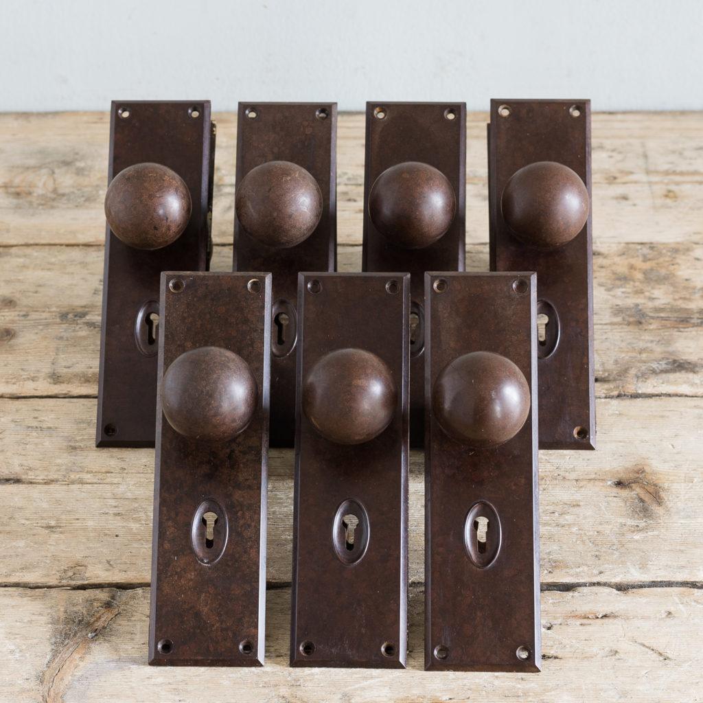 1930s bakelite door knobs,