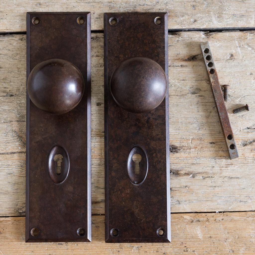 door plates with keyholes