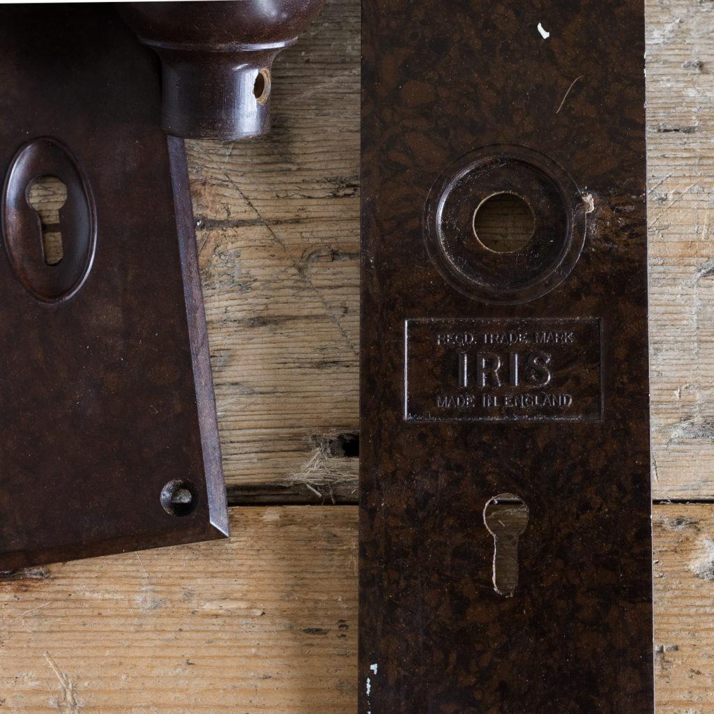 1930s bakelite door knobs,-128562