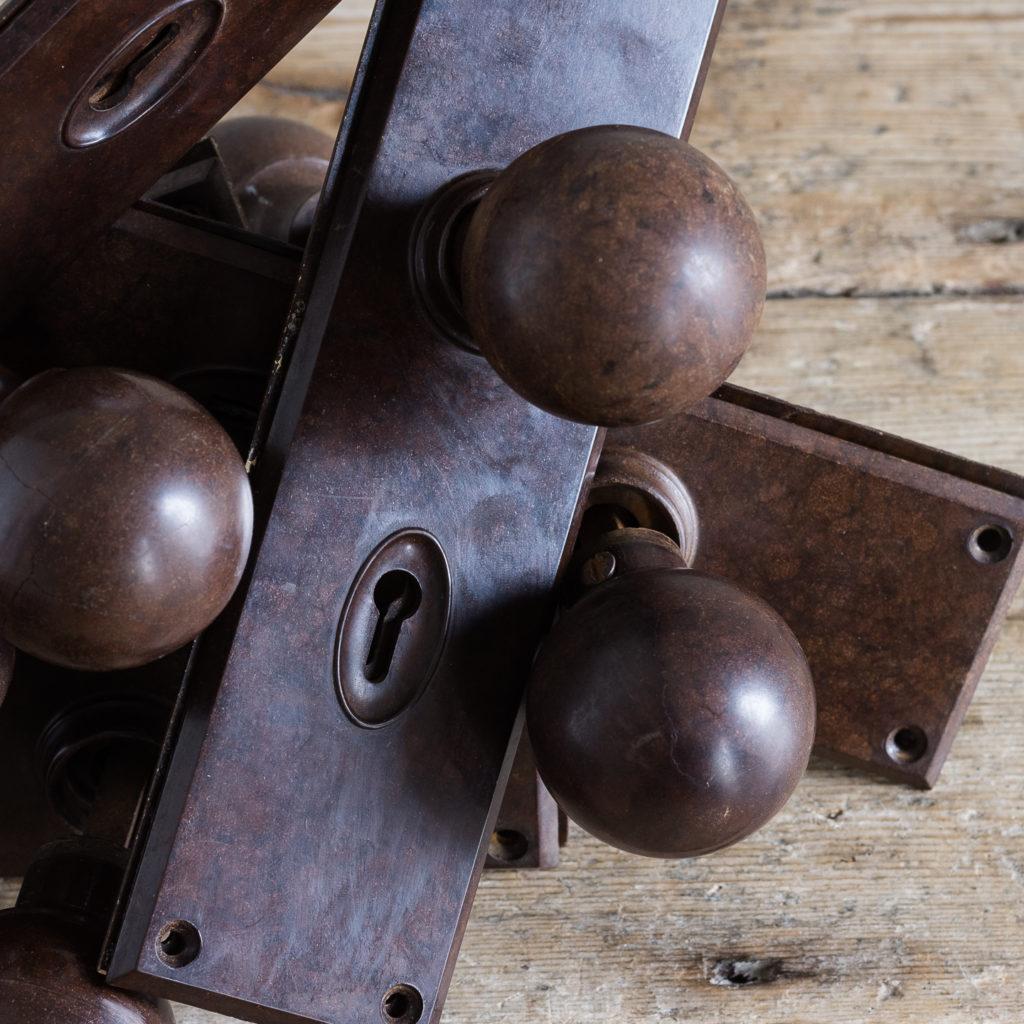 1930s bakelite door knobs,-128565