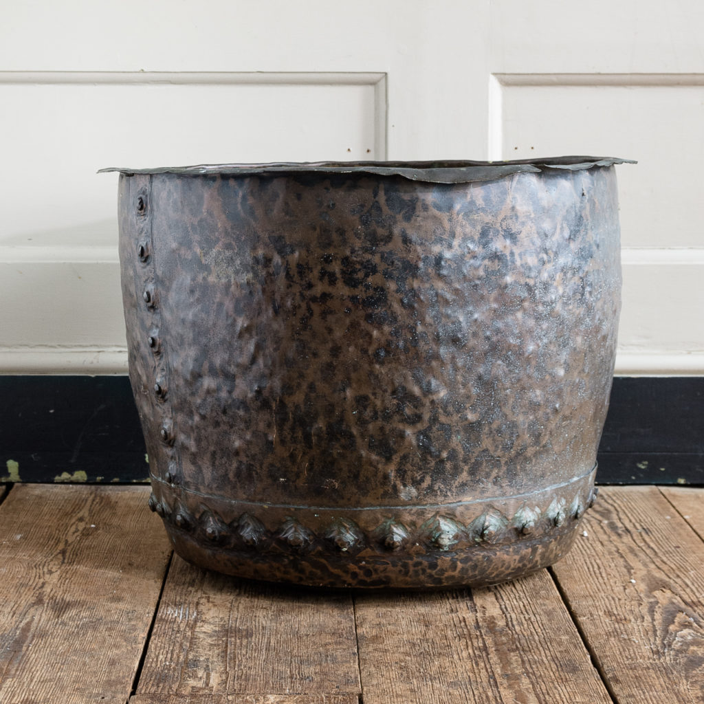 Nineteenth century copper vat,