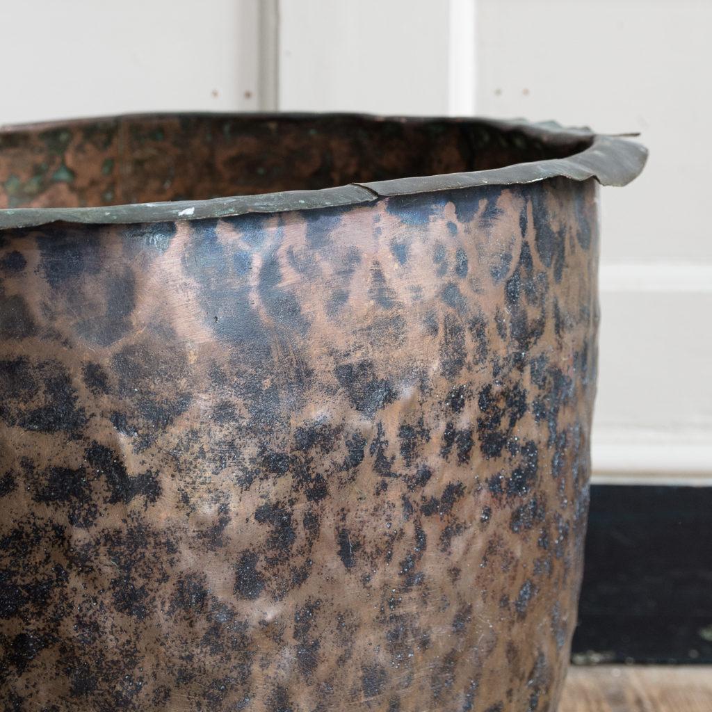Nineteenth century copper vat,-129998