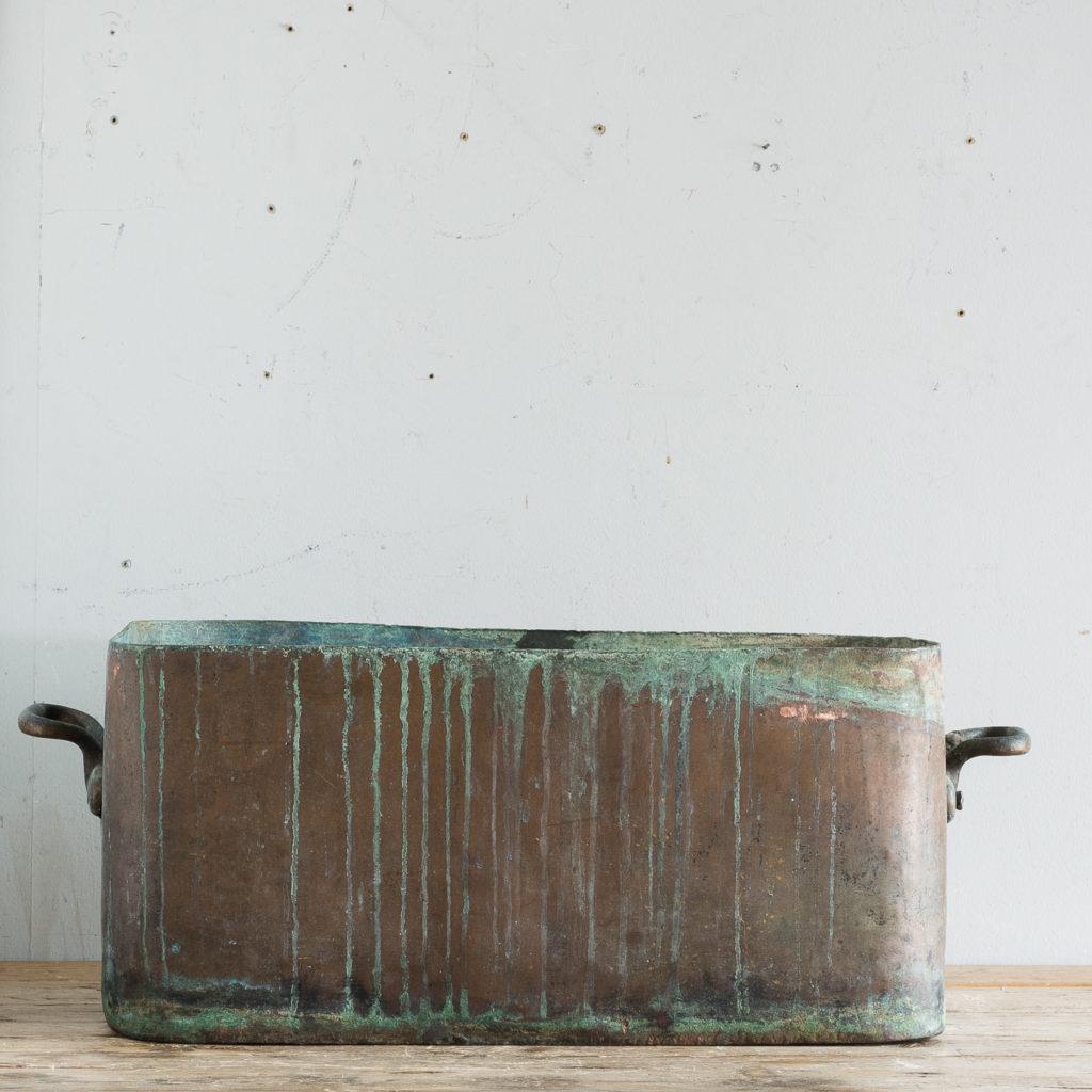 Nineteenth century copper cooking vessel,-129986