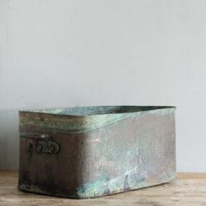 Nineteenth century copper cooking vessel,