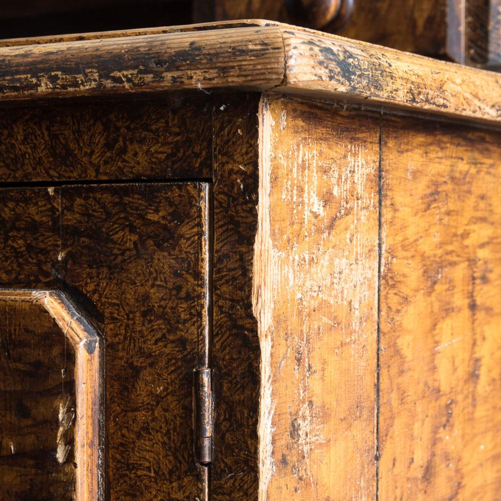 Scumble glazed Lincolnshire dresser,-129511