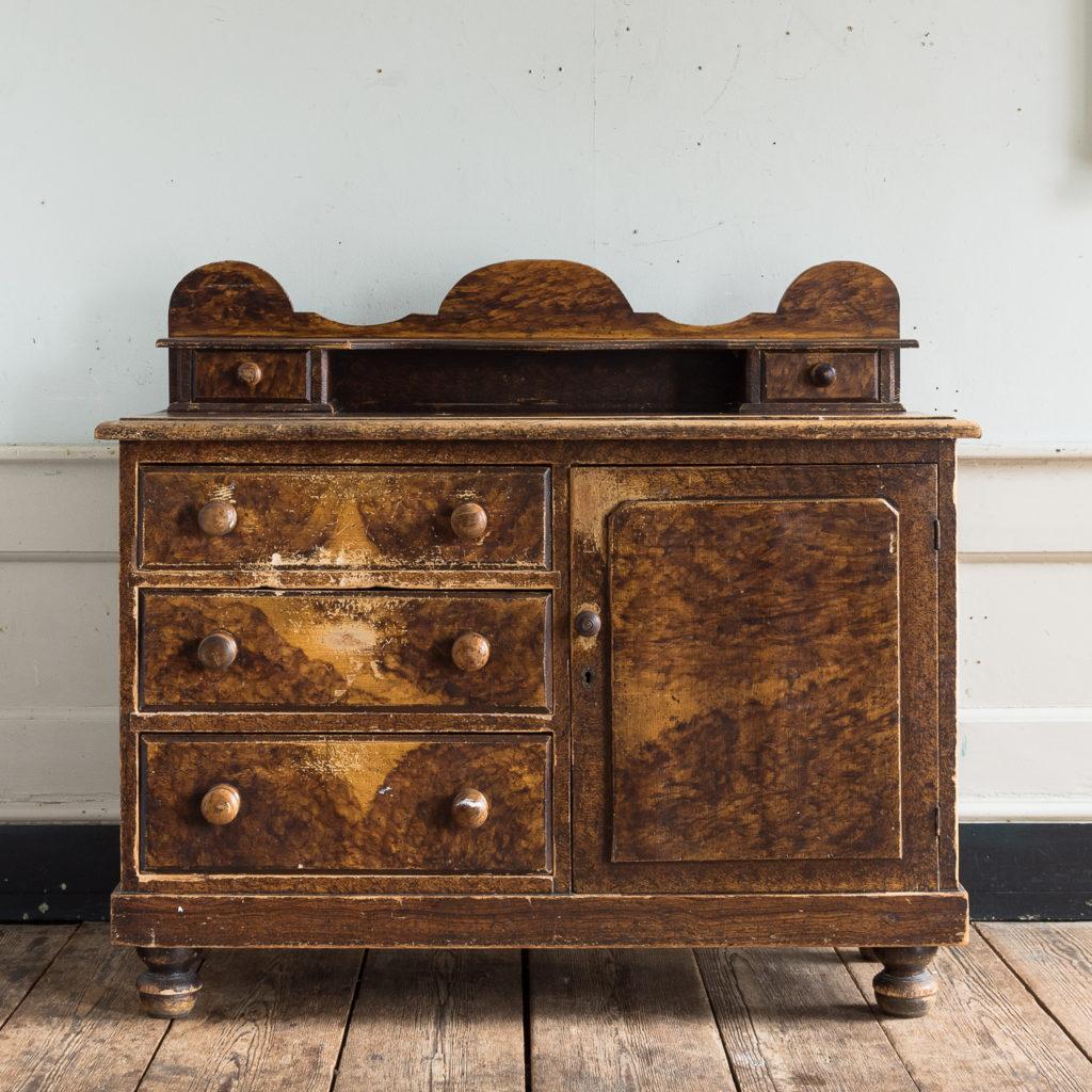 Scumble glazed Lincolnshire dresser,-129524
