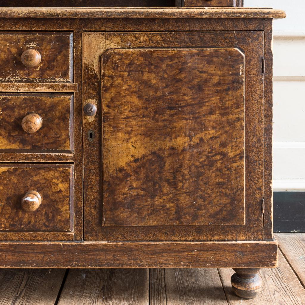 Scumble glazed Lincolnshire dresser,-129508