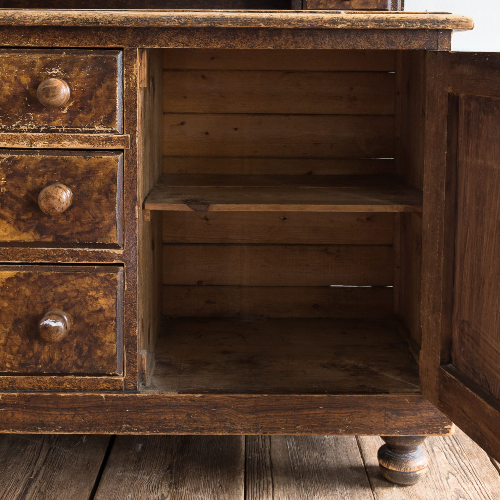 Scumble glazed Lincolnshire dresser,-129510