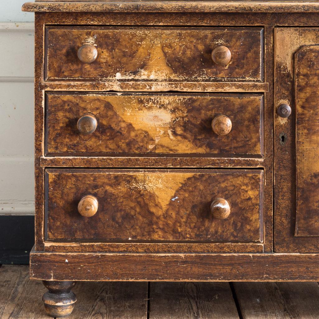 Scumble glazed Lincolnshire dresser,-129509