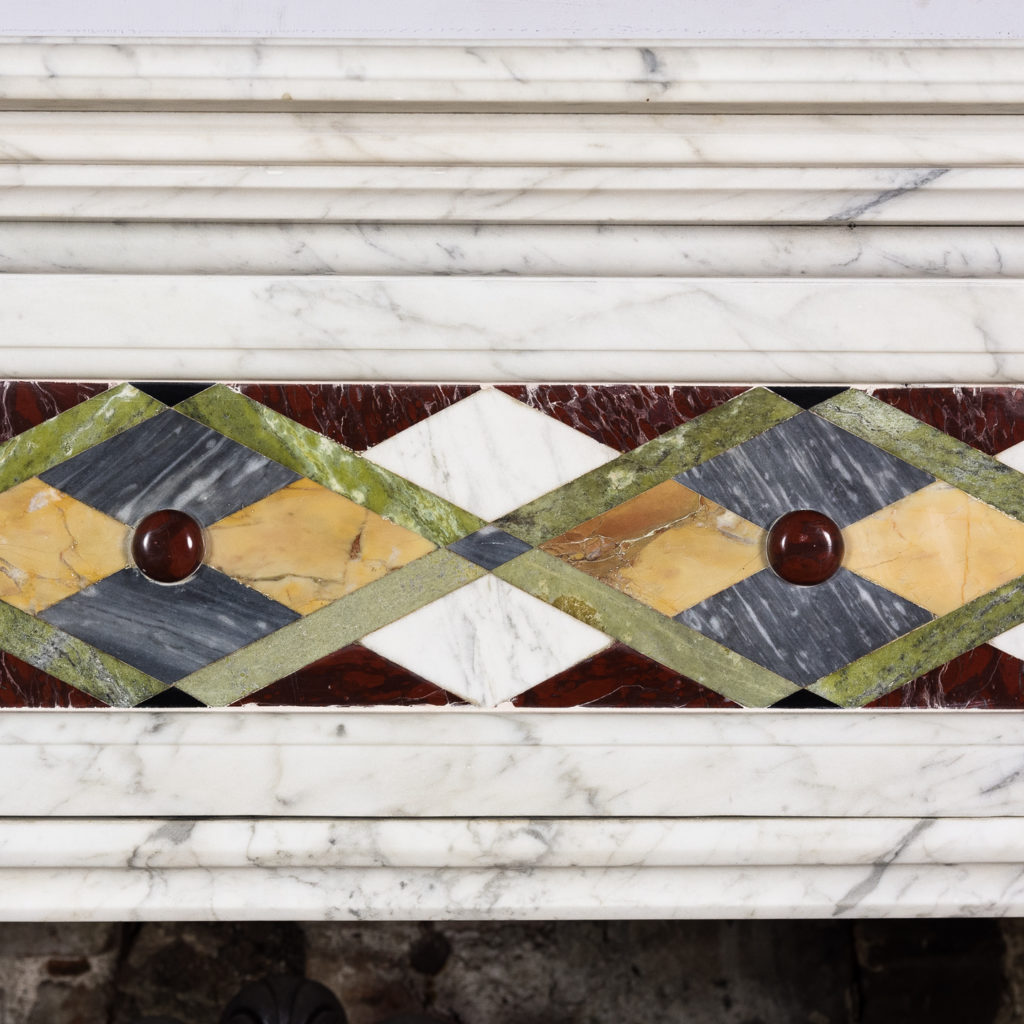 frieze with inlay