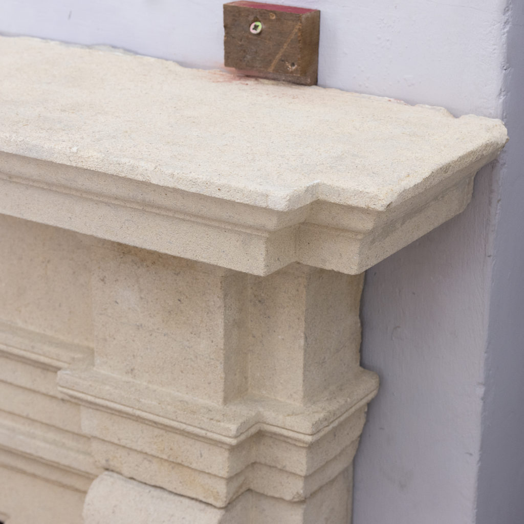 Early twentieth century Bathstone chimneypiece, -128854