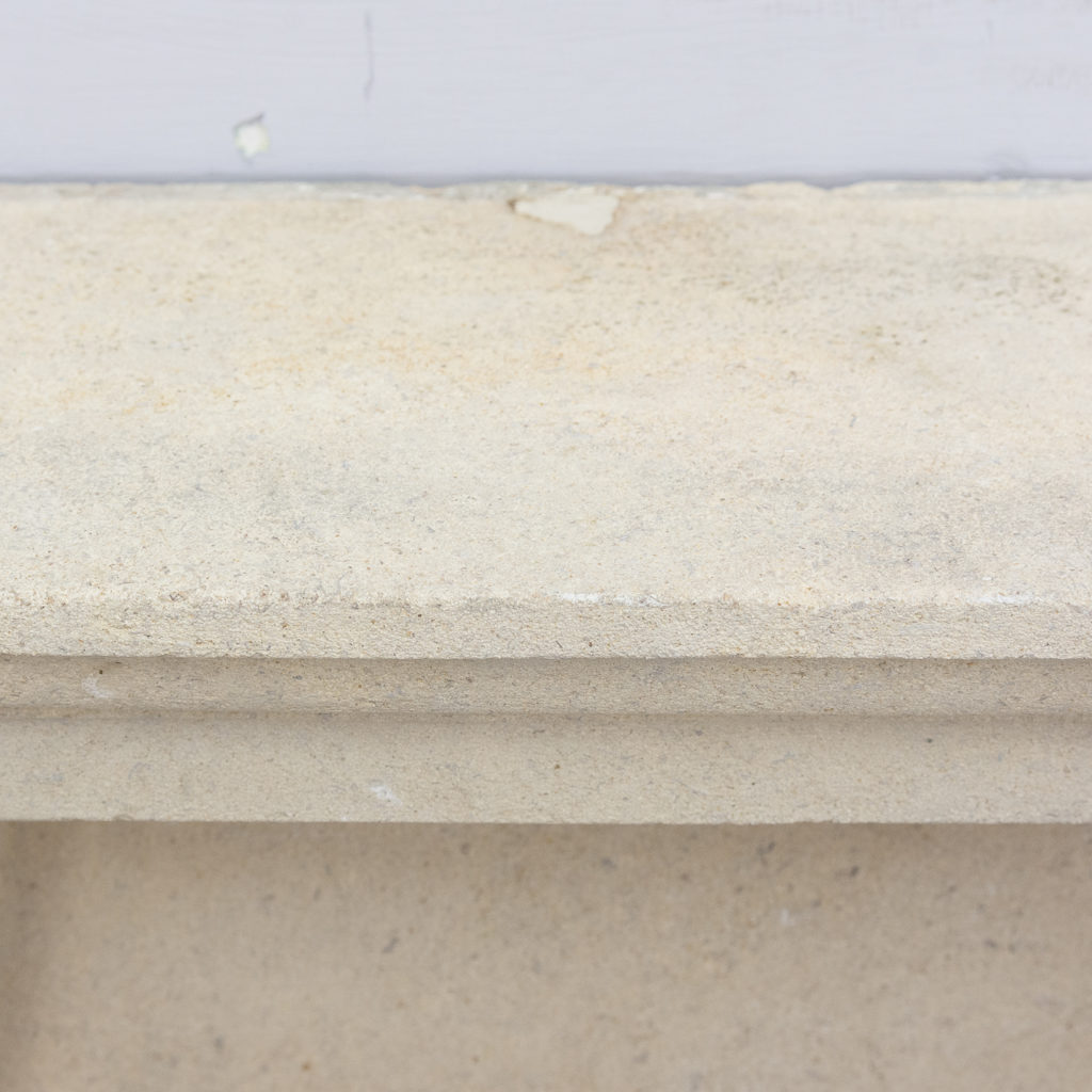 Early twentieth century Bathstone chimneypiece, -128858