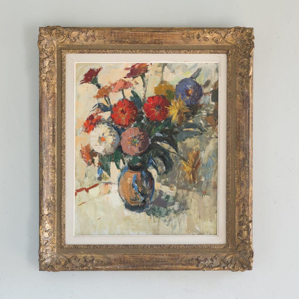 20th century floral still-life