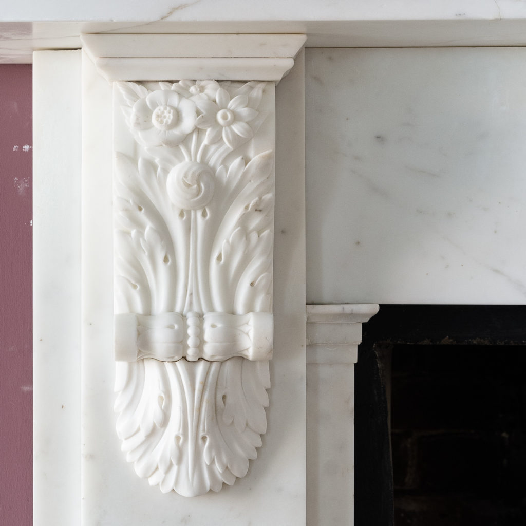 well carved foliate corbels