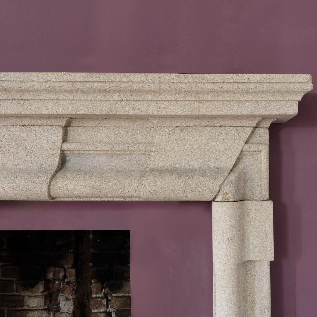 bolection moulded frieze and jambs