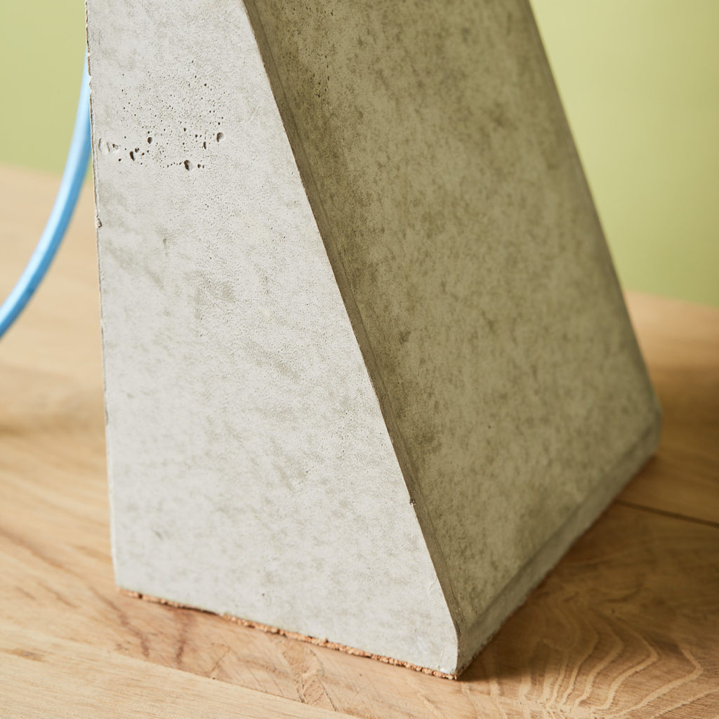 Brutalist style table lamp,-131318