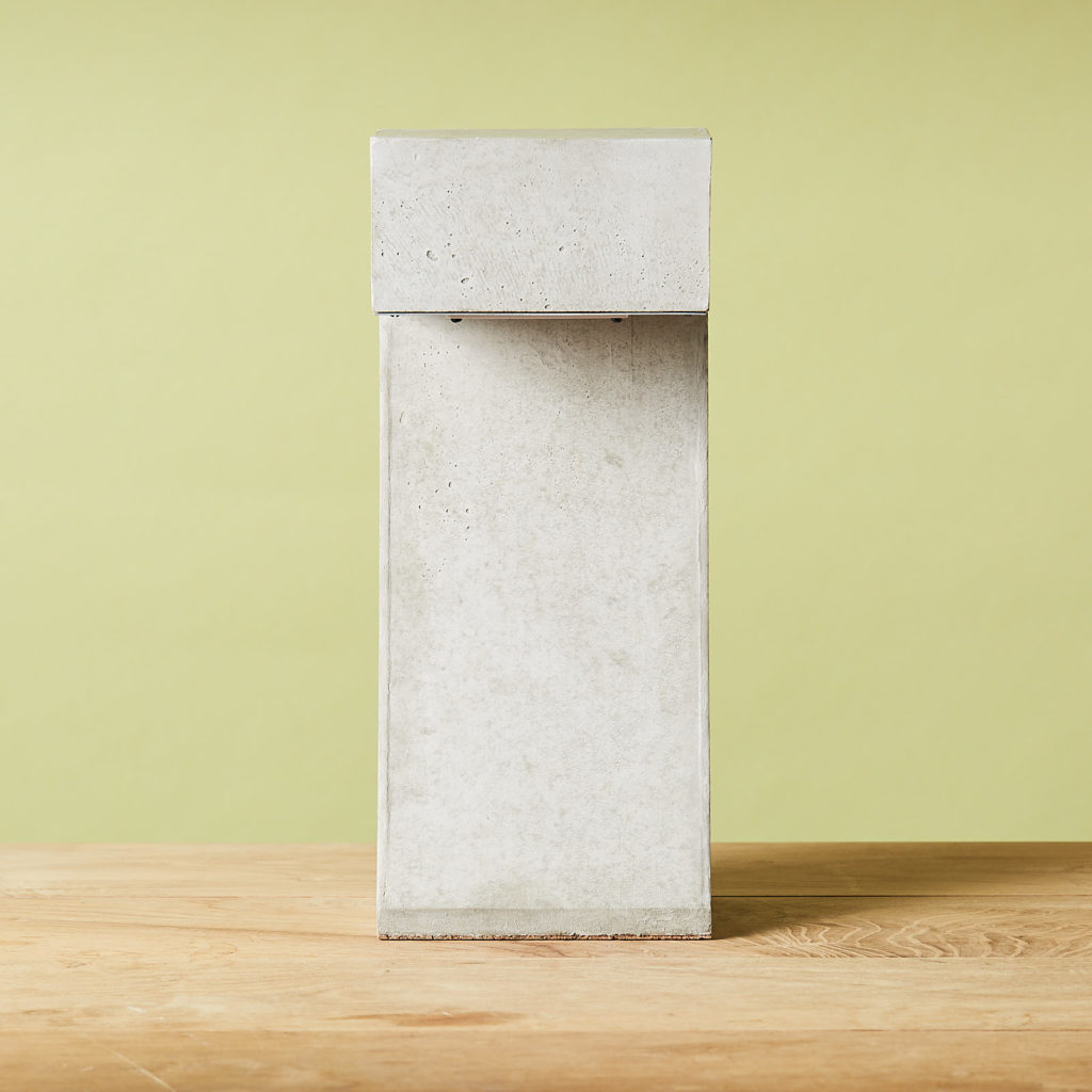 Brutalist style table lamp,-131321