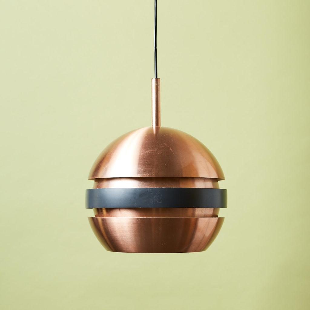 Copper ceiling light,-0