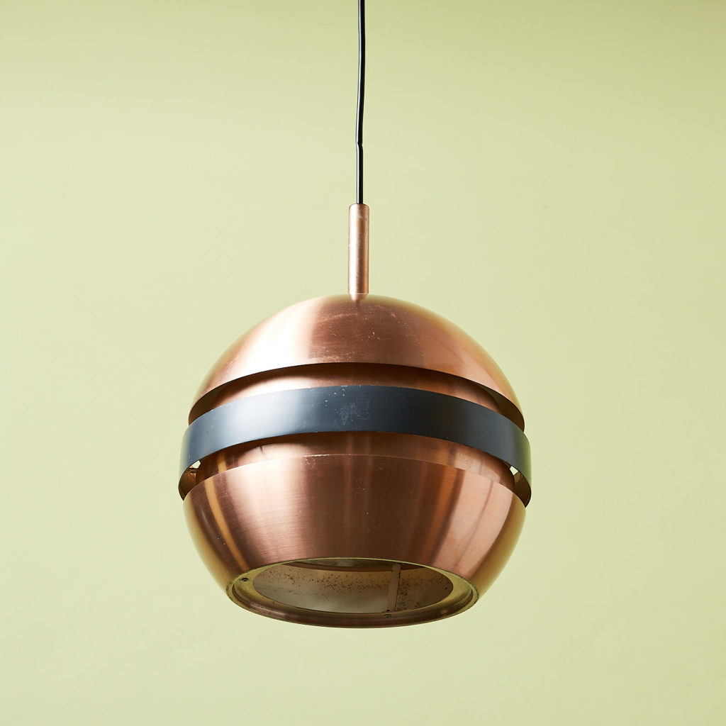 Copper ceiling light,-131292