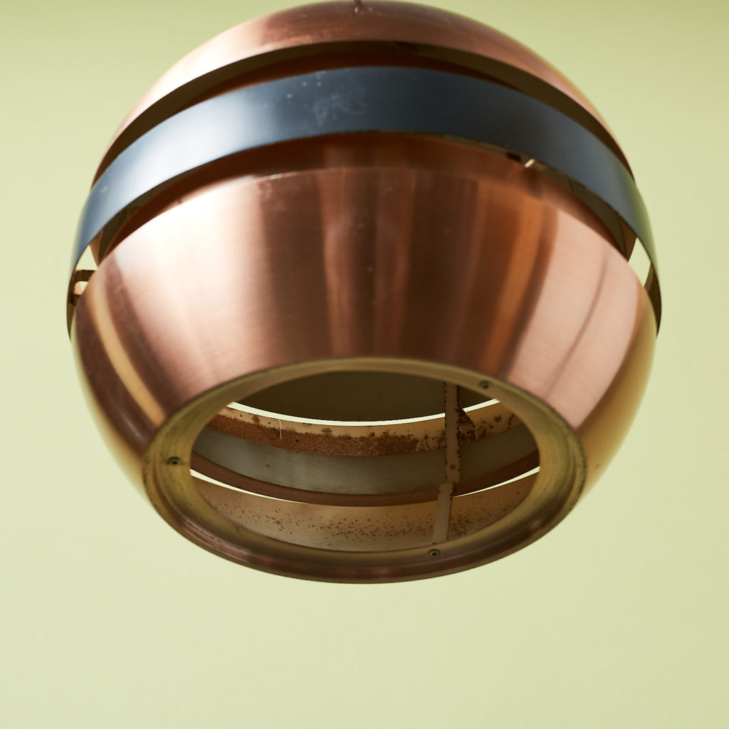 Copper ceiling light,-131294
