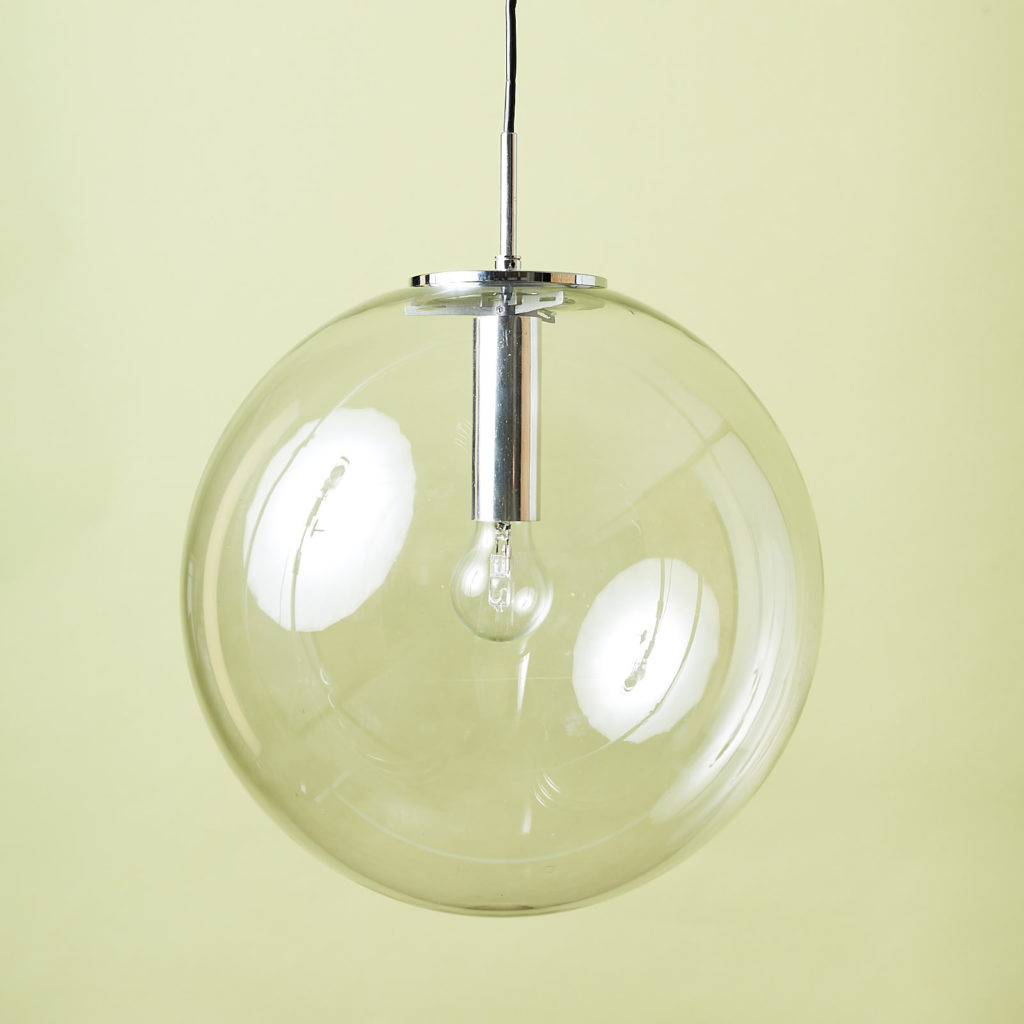 Modern glass pendant globe,-0