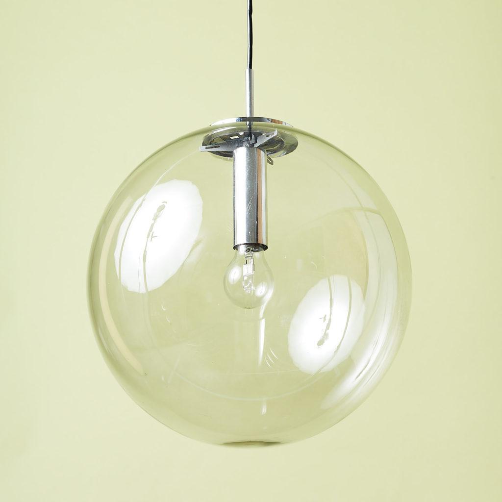 Modern glass pendant globe,-131341