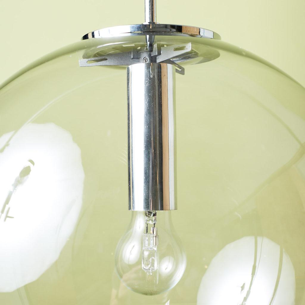 Modern glass pendant globe,-131344