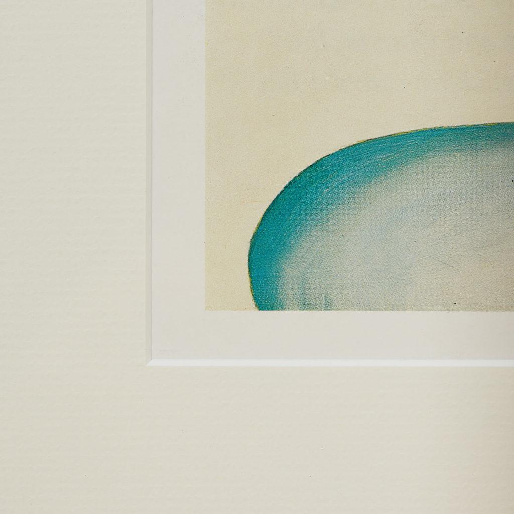 Georgia O'Keeffe lithograph,-130925