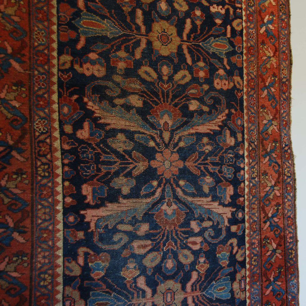 A Hamadan rug-131493