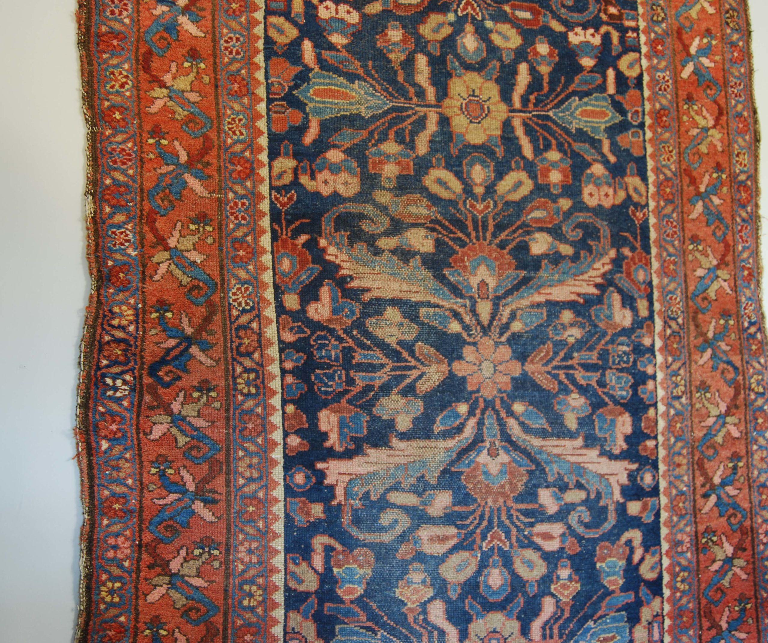 A Hamadan rug-131494