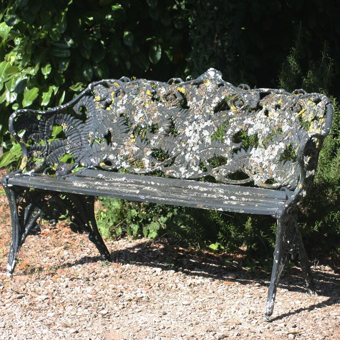 Garden Bench, Cast Aluminium Garden Benches Uk