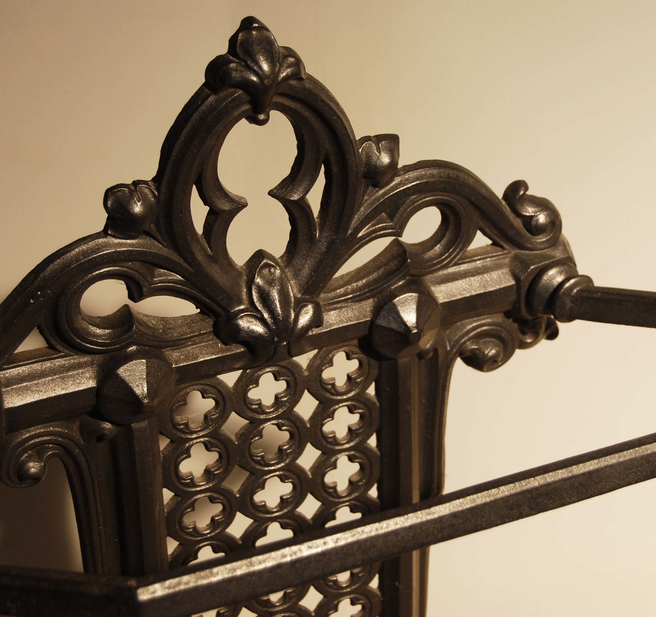 A mid-Victorian cast iron stick stand-131692