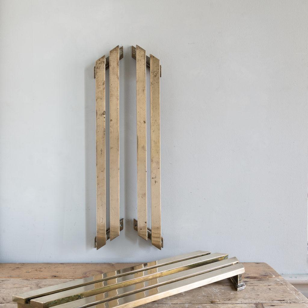 Pair of bronze Art Deco door pulls,-131765
