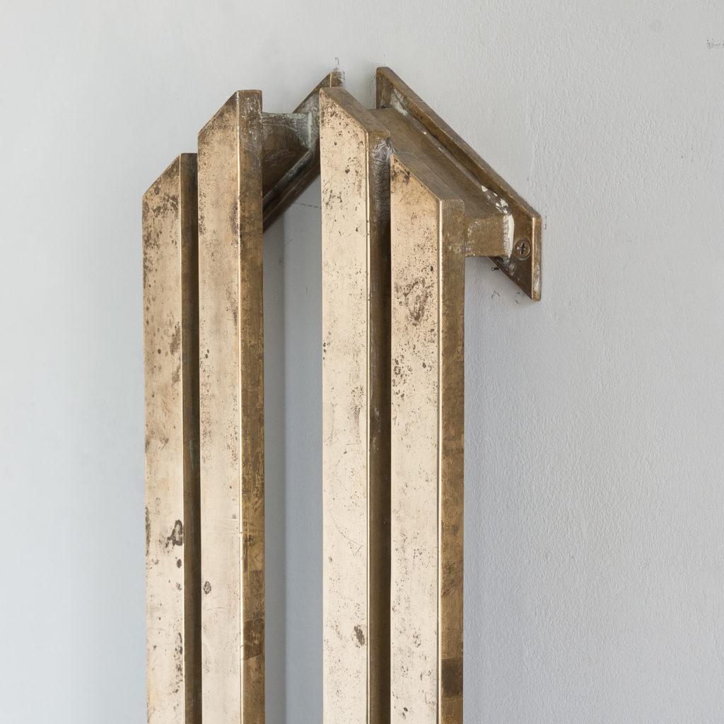 Pair of bronze Art Deco door pulls,-131767