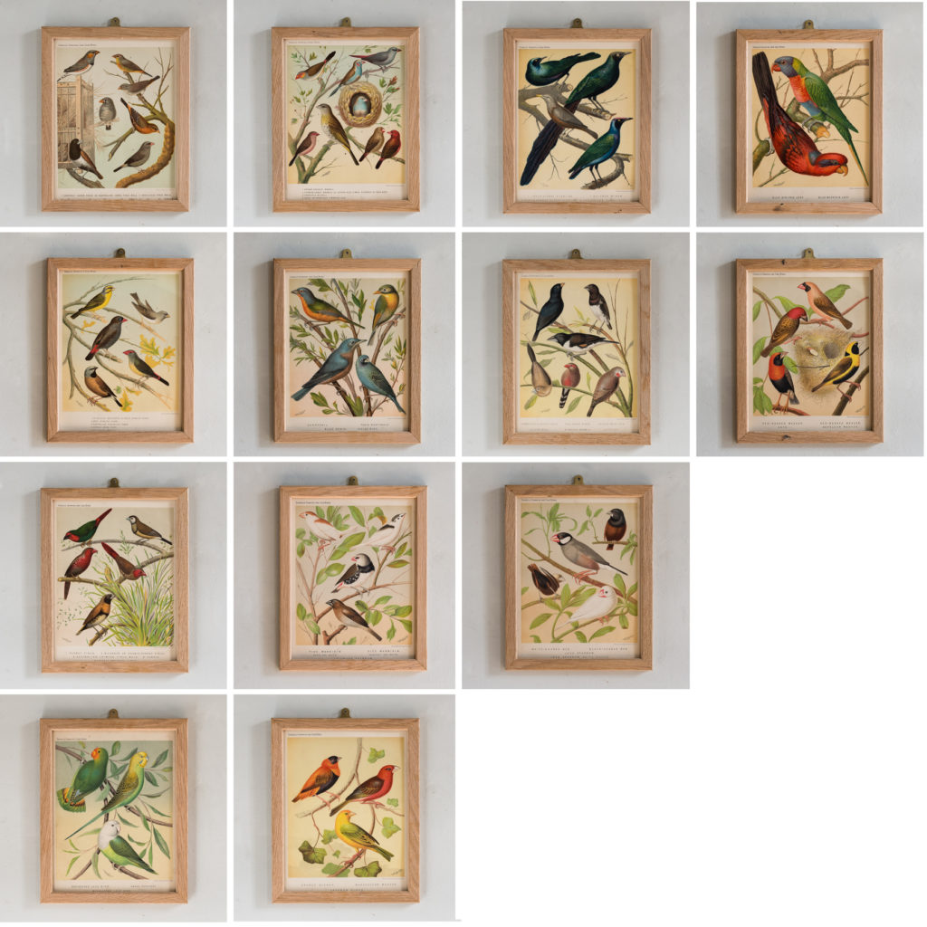 Striking chromolithographs based on the work of William Rutledge