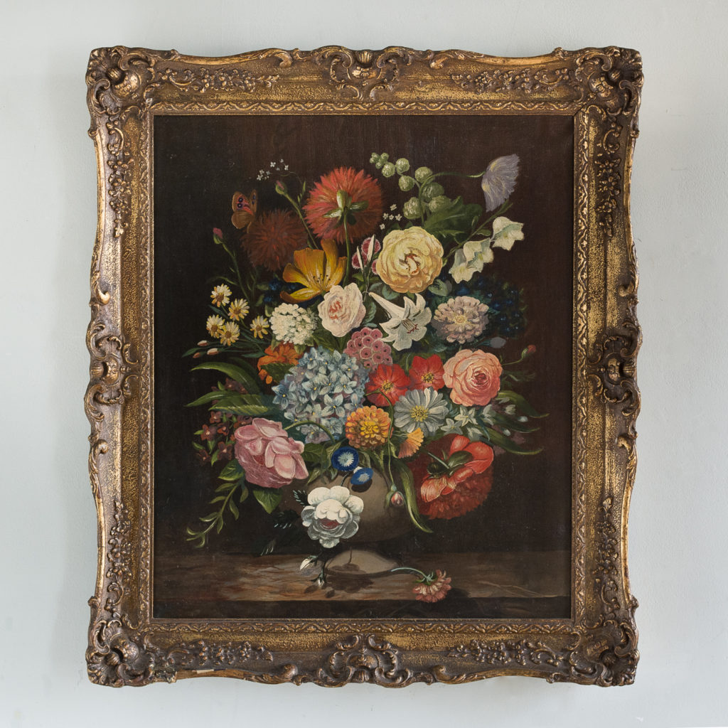 Dutch style floral still-life,