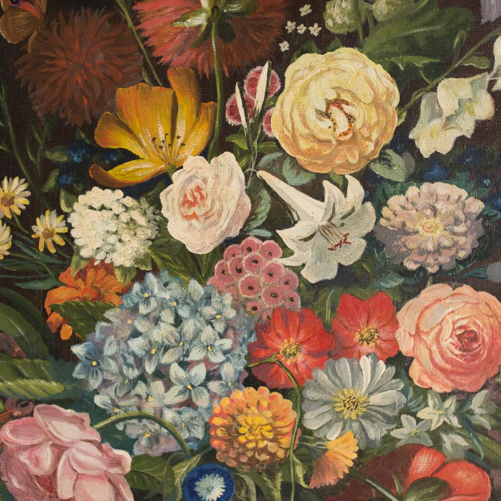 Dutch style, floral still-life,-130876