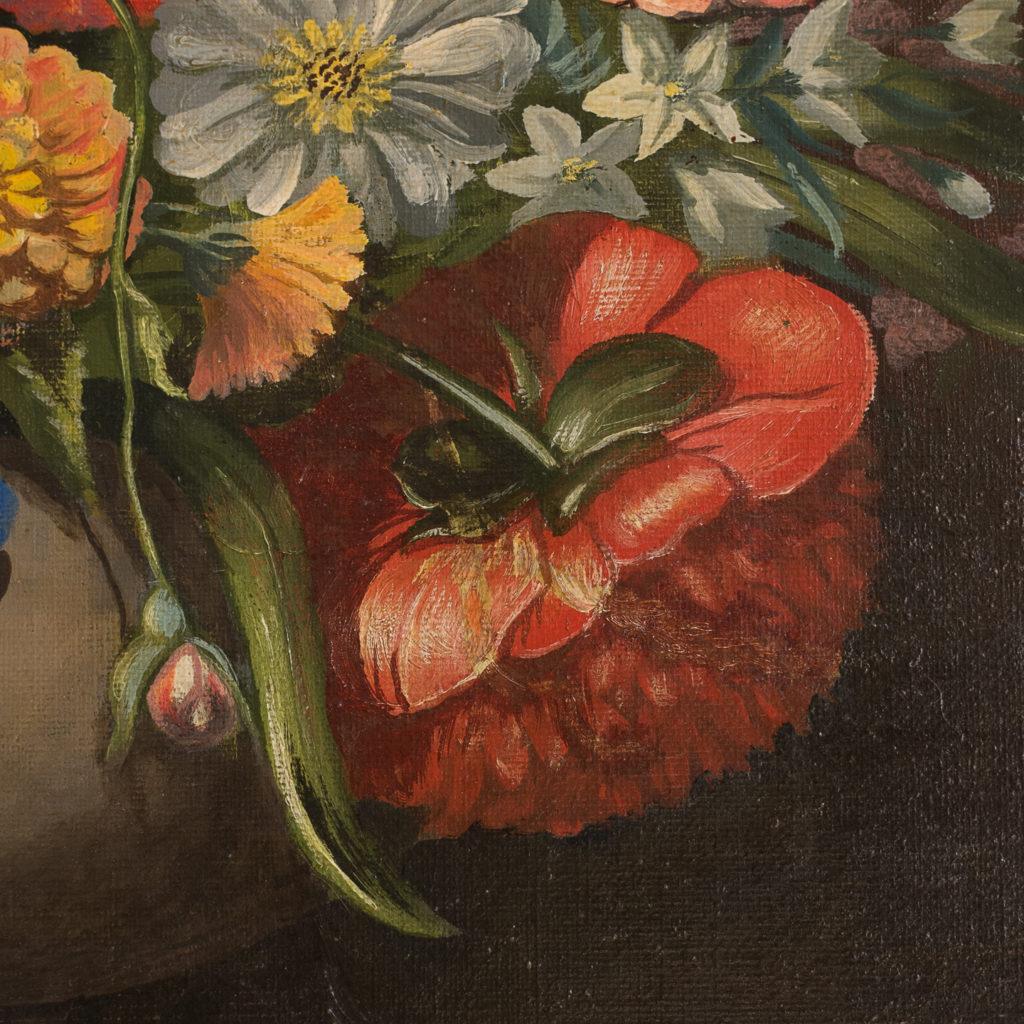 Dutch style, floral still-life,-130879
