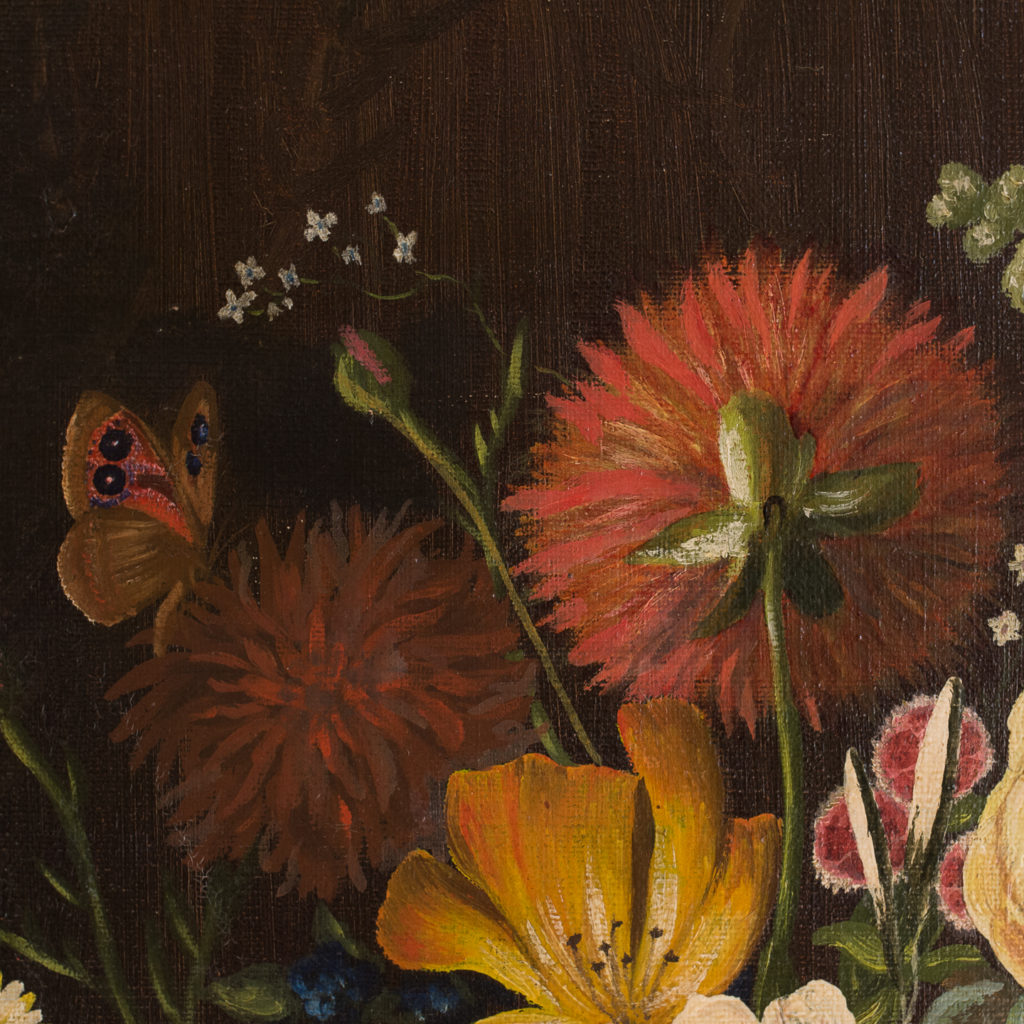 Dutch style, floral still-life,-130884