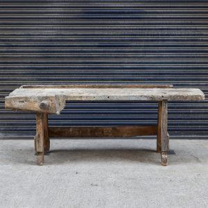 Antique carpenters bench,-0