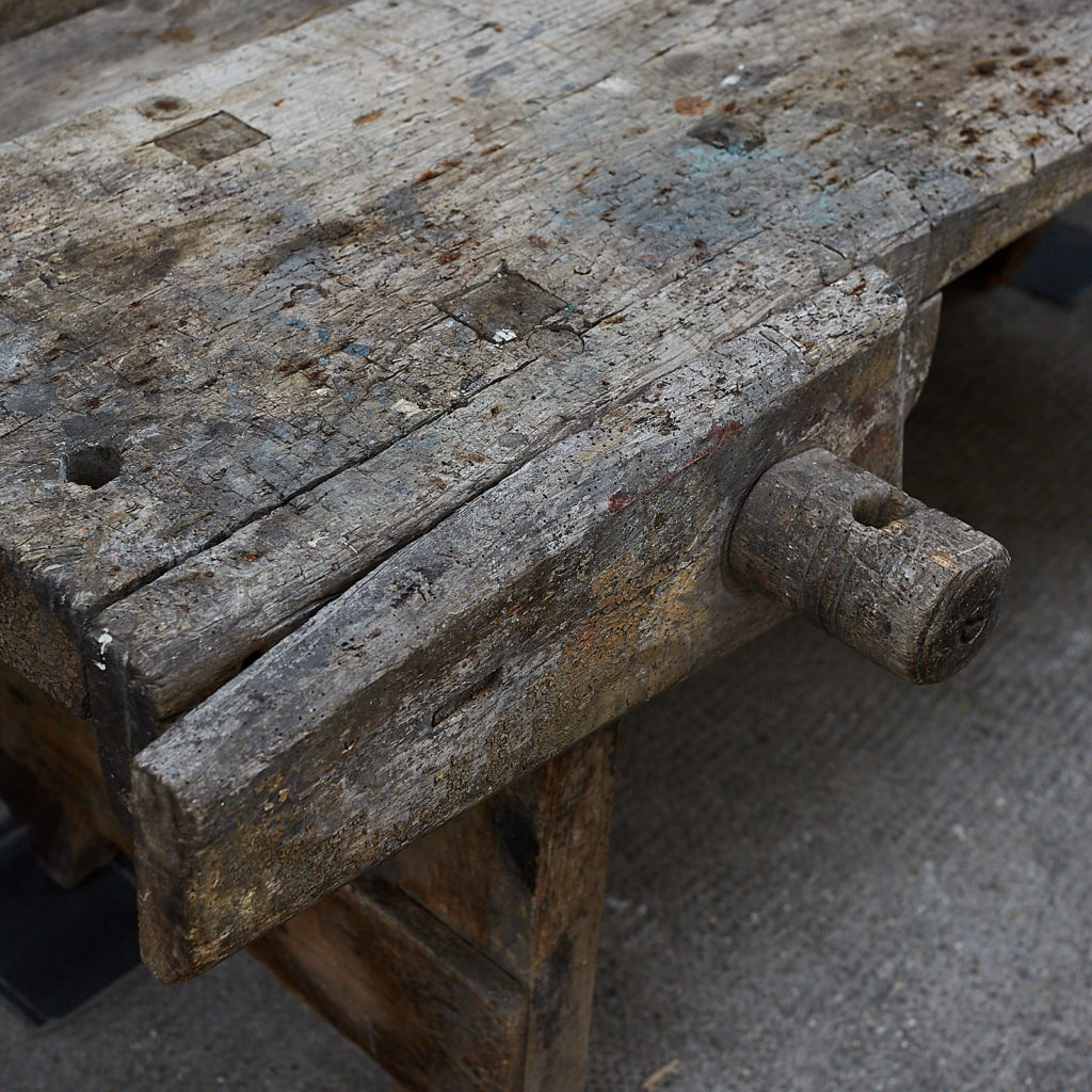 Antique carpenters bench,-131928