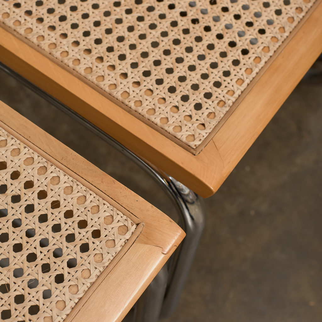 Set of 4 rattan Cesca chairs,-132226