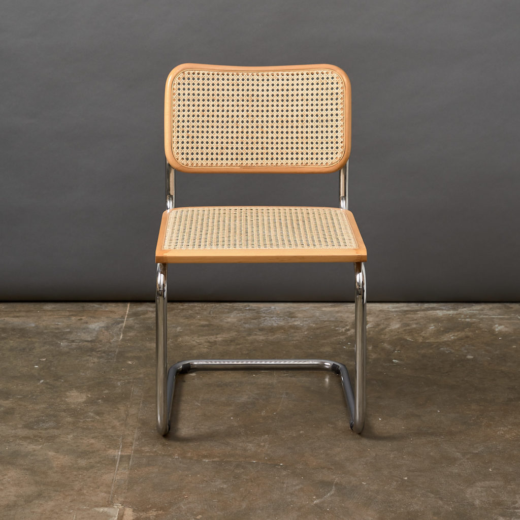 Set of 4 rattan Cesca chairs,-132234