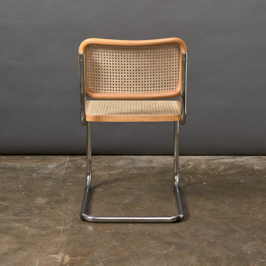 Set of 4 rattan Cesca chairs,-132237